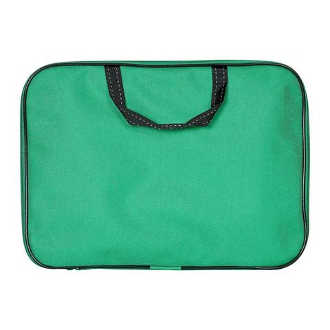 Папка-портфель А4 рант.ширина 8 см, зеленый  /1Ш48_9569