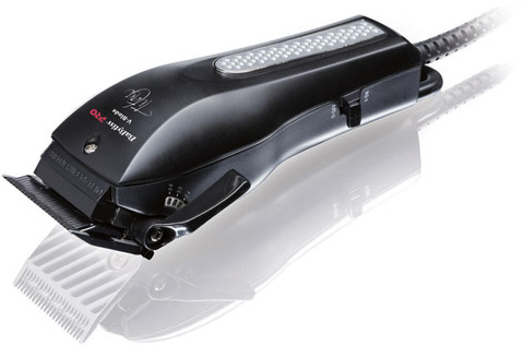 Машинка для стрижки BaByliss Pro V-Blade, сетевая, 4 насадки, черная