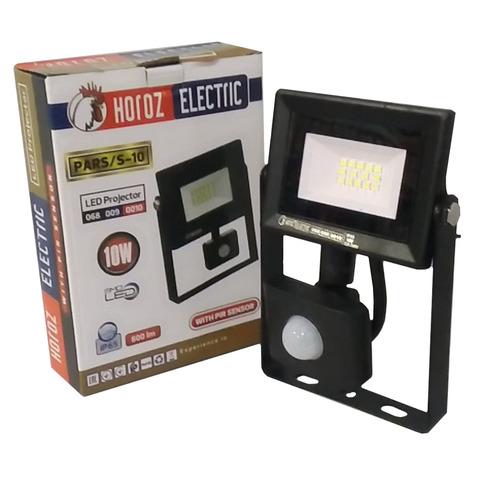 Светодиодный прожектор Horoz Electric - PARS/S - 10 6400K Черный.