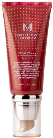 Крем BB Missha Perfect Cover SPF 42/PA+++ 23 Natural Beige
