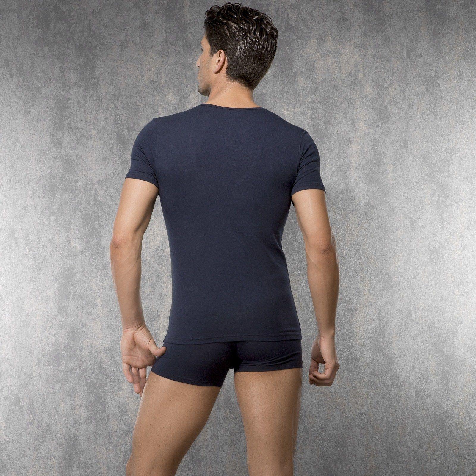 Мужская футболка темно-синяя Doreanse 2820