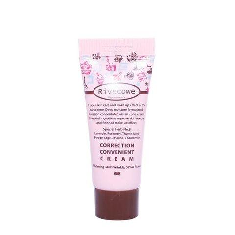 Тональный крем RIVECOWE Beyond Beauty Correction Convenient Cream SPF 43 РА+++, 40 мл