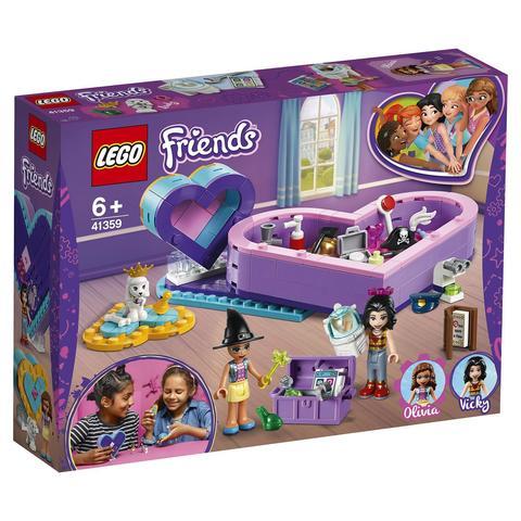 LEGO Friends: Большая шкатулка дружбы 41359 — Heart Box Friendship Pack — Лего Френдз Друзья Подружки