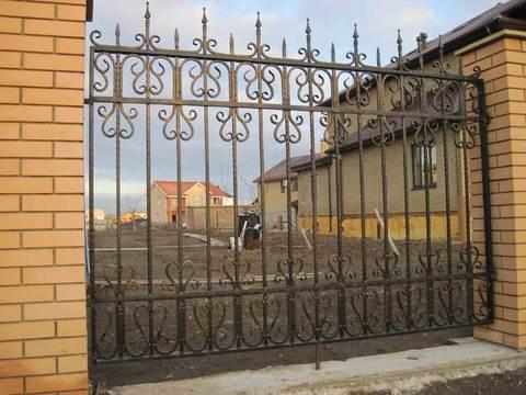Кованый забор N-7