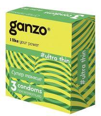 Презервативы GANZO Ultra thin, No3