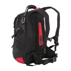 """Рюкзак с поясом Swissgear 15"""" черный/красный"""