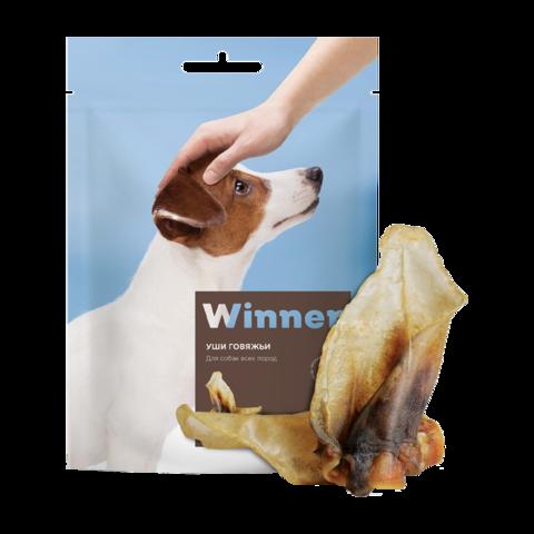 Winner лакомство для собак уши говяжьи
