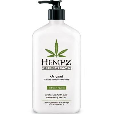 Hempz - Уход для тела: Молочко для тела увлажняющее (Herbal Moisturizer), 500мл