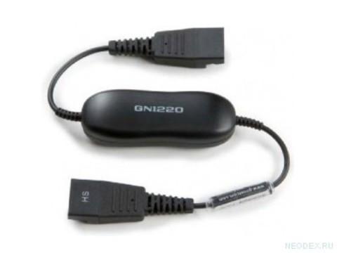 Jabra GN1220 кабель прямой с QD на QD ( 88002-99 )