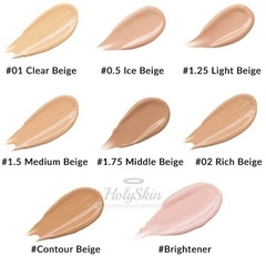 Консилер для маскировки недостатков лица Cover Perfection Tip Concealer 1.25 Light Beige 6,5гр