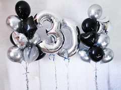 Воздушные шары на 30 лет