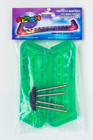 Чехлы на лезвия светодиодные (зеленые)
