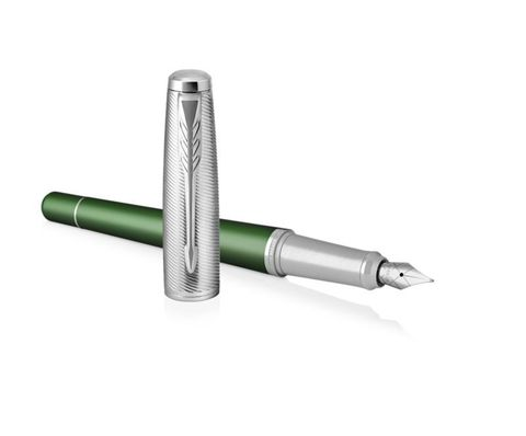 Перьевая ручка Parker Urban  Premium Green CT, F311, перо: F