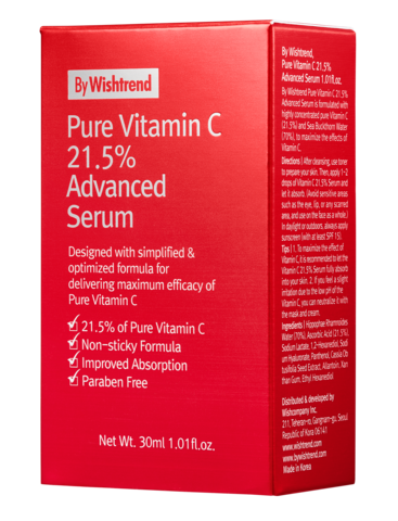 Pure Vitamin C 21.5% Advanced Serum