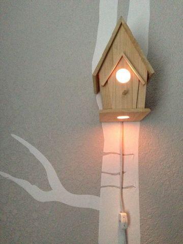 настенный светильник - скворечник