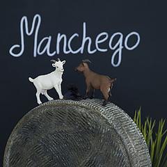 Козий сыр твердый «Манчего» / 200 гр
