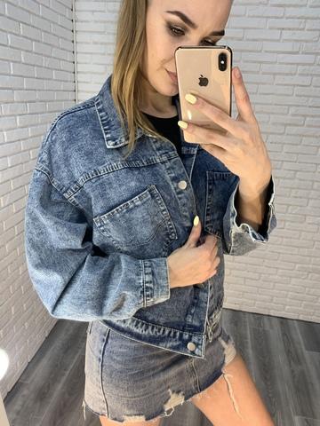 джинсовая куртка на лето женская nadya