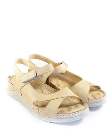 бежевые сандалии Mario Muzi