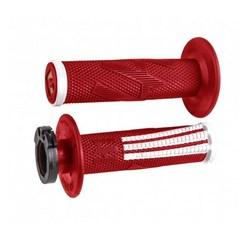 Грипсы ODI EMIG PRO V2 LOCK-ON 4 и 2-х тактных красный/белый