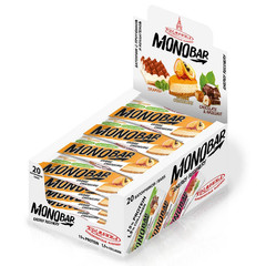 Батончик Monobar апельсин с протеином и коллагеном, 45 гр