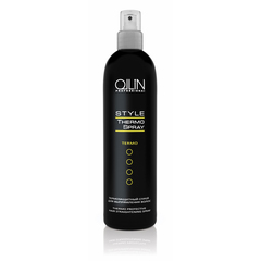 OLLIN style термозащитный спрей для выпрямления волос 250мл/ thermo protective hair straightening SP
