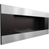 Биокамин Kratki Delta 2 Horizontal встраиваемый в стену