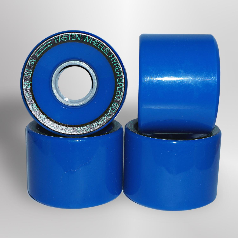 Колёса для скейтборда FASTEN Hyperspeed 83A (Blue)