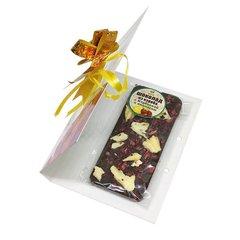 Шоколад из кэроба с клубникой и ананасом, 50 г