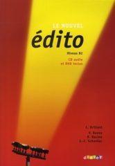 Le nouvel Edito B2 - Livre + CD + DVD