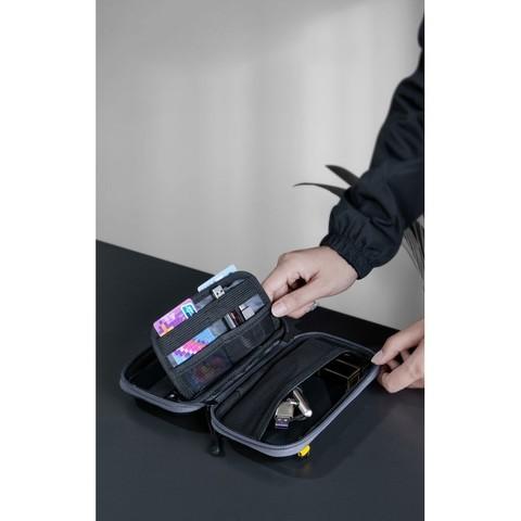 Противоударный чехол для смартфона Baseus Let's go Hermit Shockproof Storage Bag LBFZ-A02 прозрачный