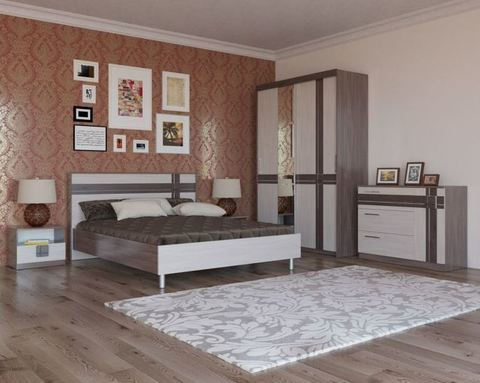 Спальня модульная ПРЕЗЕНТ-1