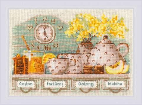 Набор для вышивания крестом «Tea Time» (1873)