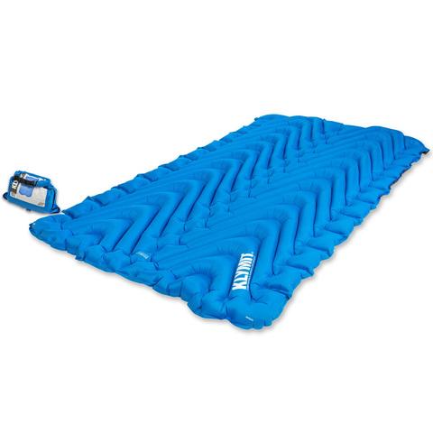 Надувной коврик Klymit Static V Double Blue, синий