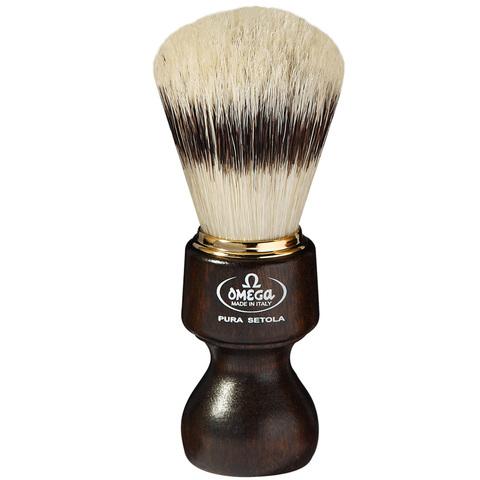 Помазок для бритья Omega натуральный кабан 11126