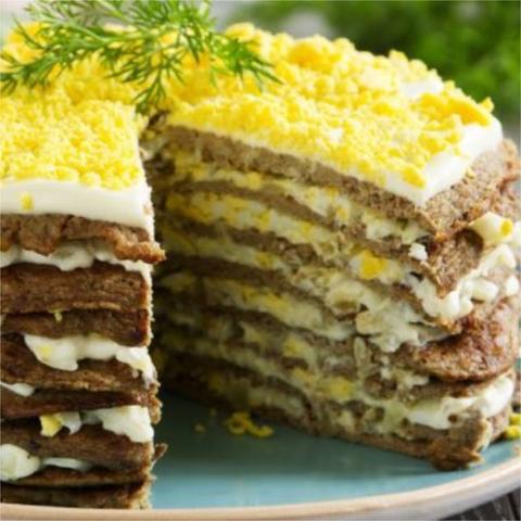 Торт Печеночный 1 кг