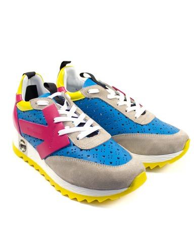 цветные кроссовки Mario Muzi