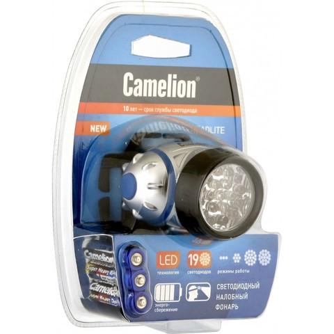 Фонарь налобный Camelion