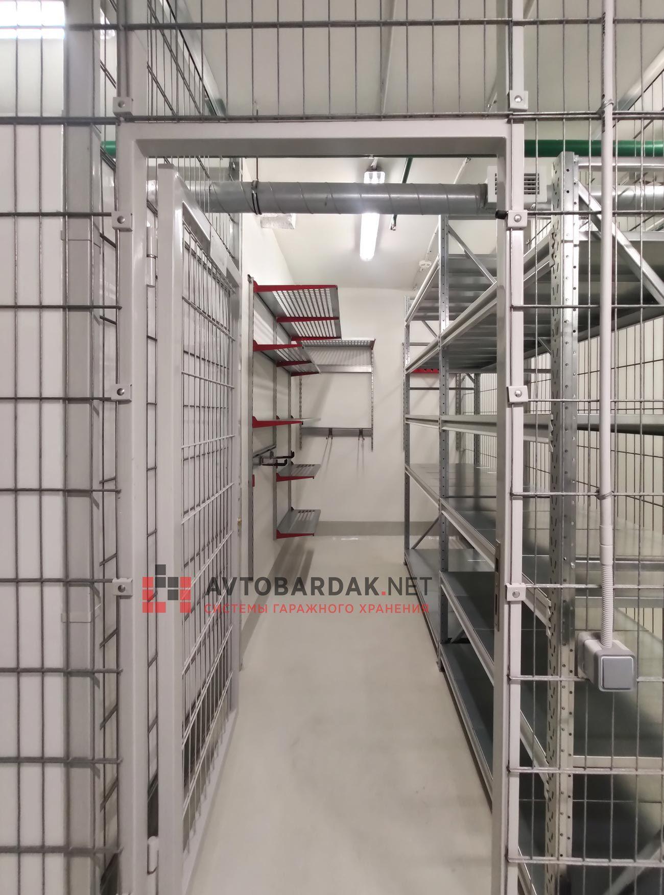 Проект № 27: кладовка 7 кв м (1,85 х 3,78 м) + видео