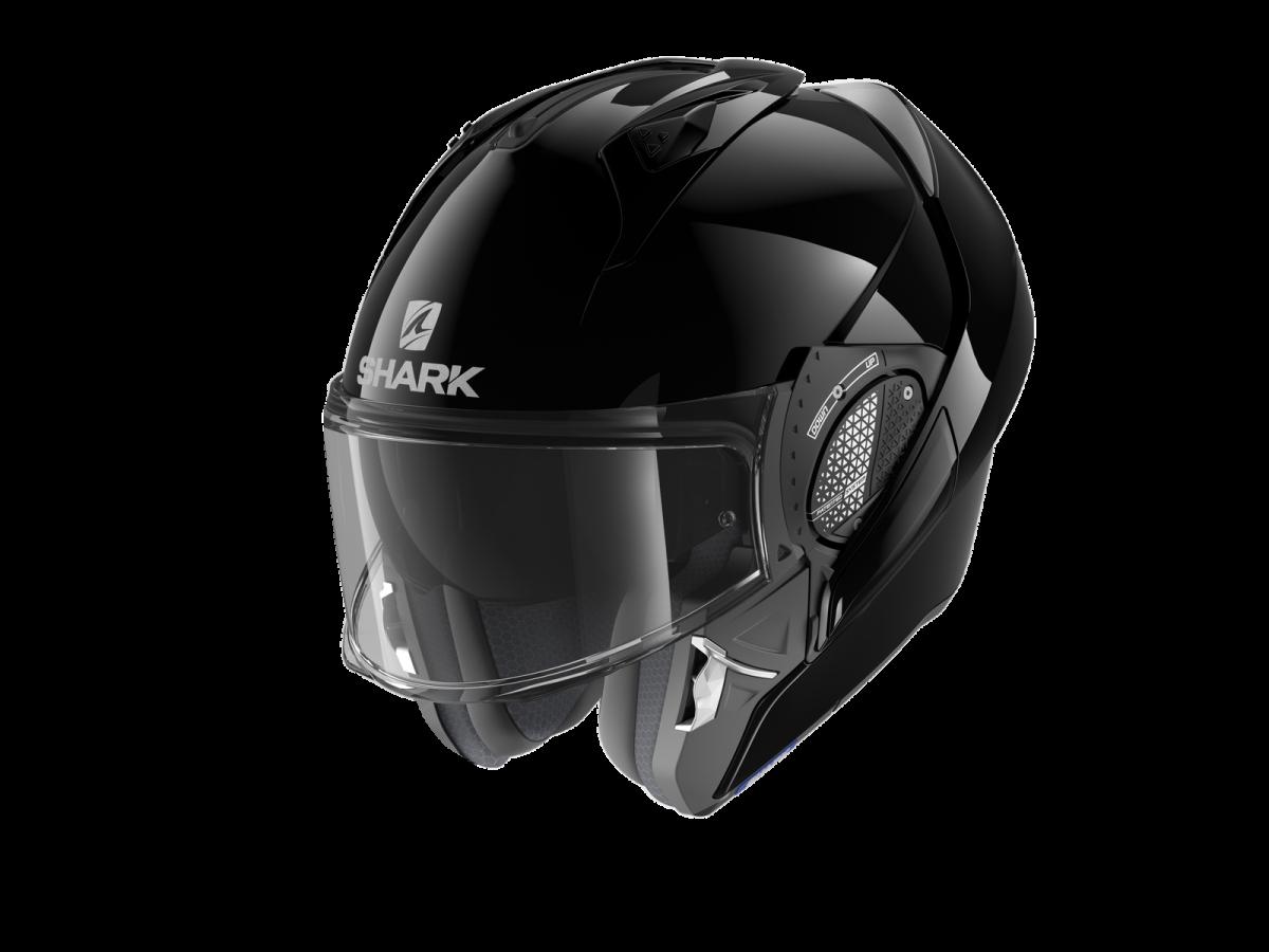 SHARK EVO-GT BLANK BLACK