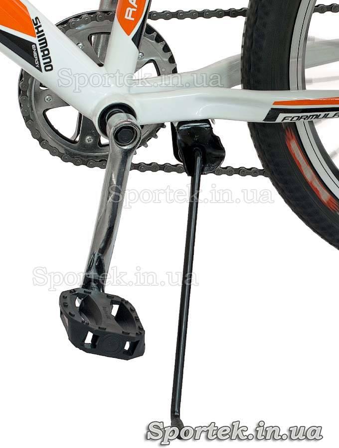 Подножка и педаль горного универсального велосипеда Formula Dakar 2015 (Формула Дакар)