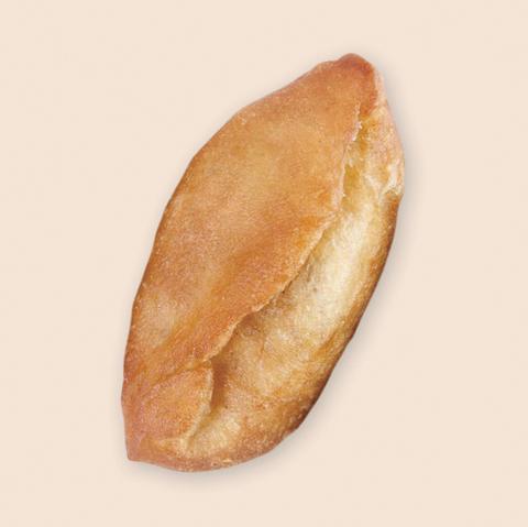 Пирожок жареный с капустой и яйцом