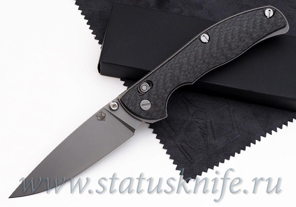 Нож Широгоров Табарган 100NS S35VN CF 3D карбон