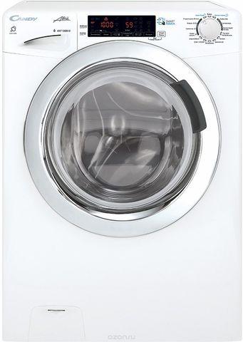 Узкая стиральная машина с сушкой Candy GrandO Vita Smart GVSW4 364TWHC-07