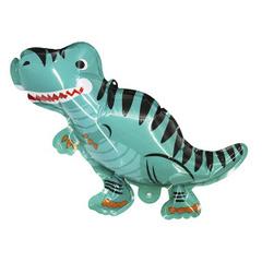 К Шар самодув, Фигура Динозавр голубой, 20см.