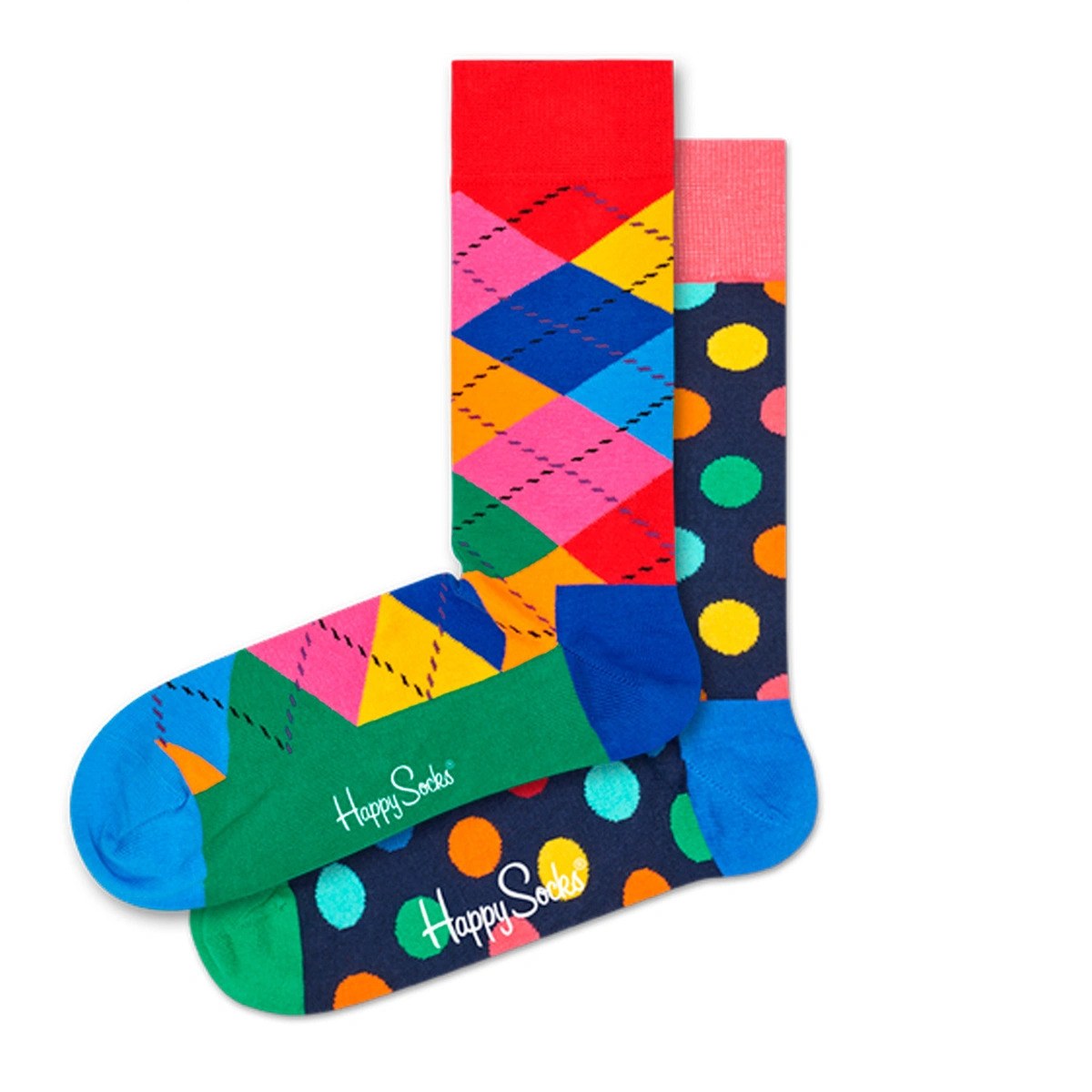 2-Pack Classic Holiday Socks Gift Set