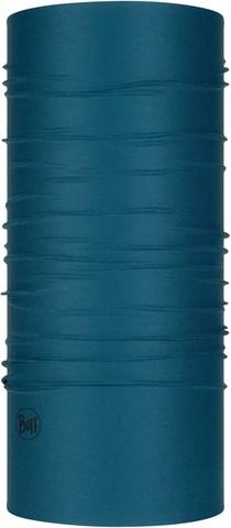 Бандана-труба летняя с защитой от насекомых Buff CoolNet Insect Shield Solid Eclipse Blue фото 1
