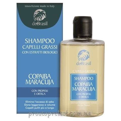 Dobrasil shampoo capelli grassi con estratti biologici - Шампунь для жирных волос с растительными экстрактами