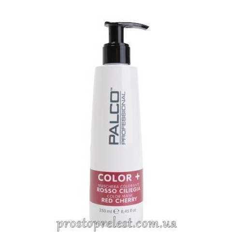 Palco Professional Color + Color Mask Cherry Red - Питательная тонирующая маска для волос Черри