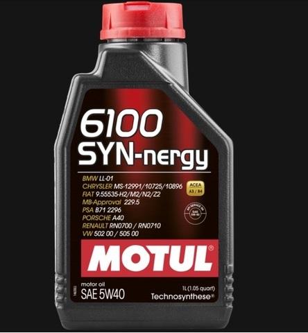 Масло моторное Motul 6100 SYN-NERGY 5W40  Technosynthese®