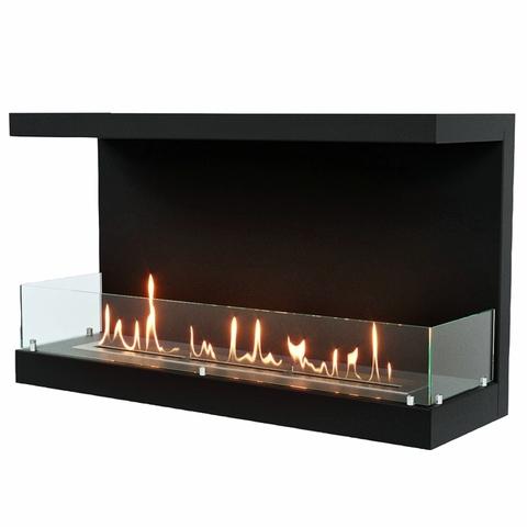 Торцевой биокамин Lux Fire Фронтальный 1100 M
